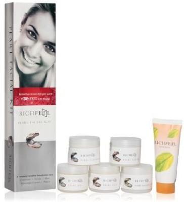 Richfeel Richfeel Pearl Facial Kit Set of 6