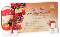NutriGlow AHA Fruit Facial Kit With Free NutriGlow Face Wash 190 G (Set Of 5)