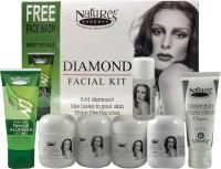 Nature's Essence Diamond Facial Kit - Medium Pack ( 250 G + Free 100 Ml Face Wash) 350 G (Set Of 7)