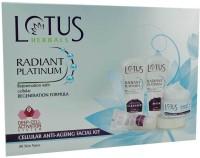 Lotus Herbals Adiant Platinum Cellular Anti-Ageing 450 G (Set Of 4)