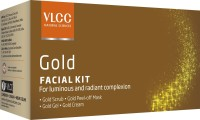 VLCC Gold Facial Kit: Facial Kit
