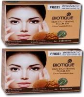 Biotique Skin Tightening Facial Kit Pack Of 2(set Of 4) 120 G (Set Of 4)
