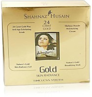 Shahnaz Husain Gold Facial Kit For Skin Radiance 40 G (Set Of 1)