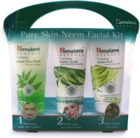 Himalaya Herbals Pure Skin Neem Facial Kit (Set Of 3)
