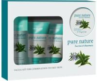Pure Nature Tea Tree And Rosemary Kit 350 Ml (Set Of 4)