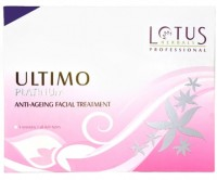 Lotus Herbals Professional Ultimo Platinum Anti-Ageing Facial Treatment 140 G (Set Of 6)