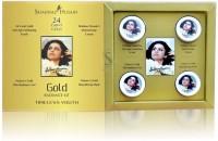 Shahnaz Husain 24 Carat Gold Skin Radiance Kit (10gm * 4) 40 G 40 G (Set Of 4)