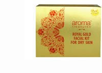 Aroma Treasures Royal Gold Facial Kit For Dry Skin 225 G (Set Of 1)