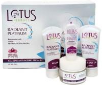 Lotus Herbals Radiant Platinum Cellular Anti Ageing Facial Kit 37 G (Set Of 4)