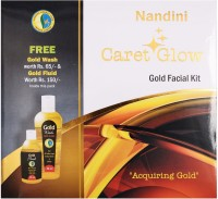 Nandini Herbal Care Caret Glow Gold Facial Kit, 170g + 75ml 250 G (Set Of 6)