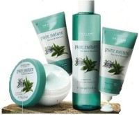 Oriflame Sweden Pure Nature Tea Tree And Rosemary 425 G (Set Of 4)