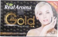 Real Aroma Insta Glow & Extra Fairness Facial Kit 740 G (Set Of 5)