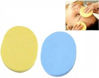 Styler Best Quality Natural Seaweed Facial Cleaning Wash Pad Puff Sponge(Set Of 2) (Pack Of 2)