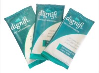 Dignifi Bath Wipes With Aloe Vera & Olive Oil (30 Large Wipes In 10 Individual Packs) For Complete Bath For Bedridden Patients (Pack Of 10)