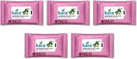 Kara Refreshing Facial Wipes - Aloe Vera & Cucumber (30 Wipes Per Pack)-Pack Of 5 (Pack Of 150)