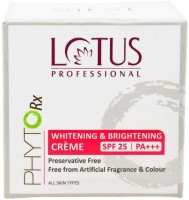 Lotus Herbals Professional Phyto Rx Whitening And Brightening Creme (50 G)