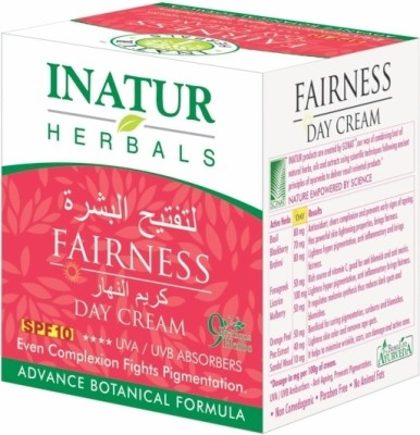 Inatur Herbals Fairness Day Cream - 50 G