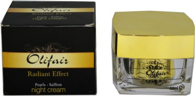 Olifair Pearls Saffron Night Cream (50 Ml)