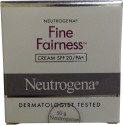Neutrogena Fine Fairness Cream SPF 20/PA+ - 50 G
