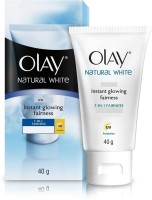 Olay Natural White 7 In 1 Instant Glowing Fairness (40 G)