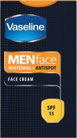 Vaseline Men Anti Spots Whitening Face Cream - SPF 15 (30 G)