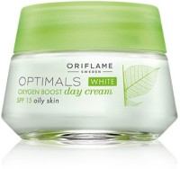Optimals White Oxygen Boost Day Cream SPF 15 Oily Skin (50 Ml)