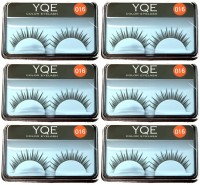 YQE Styling Eyelash Day And Night Pack (Pack Of 6)