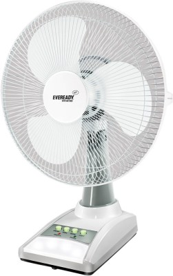 Eveready 14 inch RF03 Rechargeable 3 Blade Table Fan