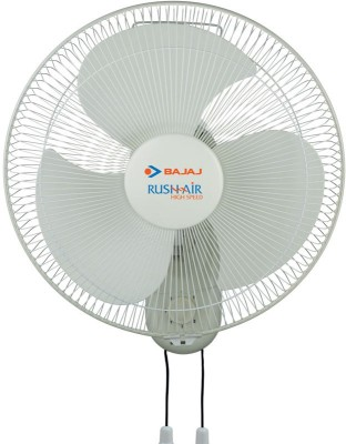 Bajaj Rushair 3 Blade (400mm) Wall Fan