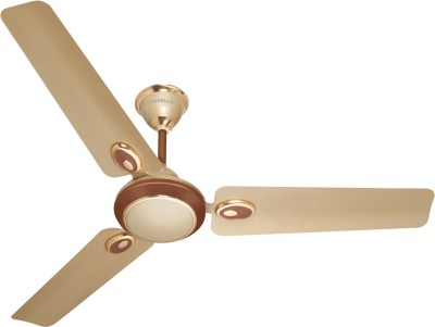 Havells Fusion Five Star 3 Blade Ceiling Fan Star Beige Brown