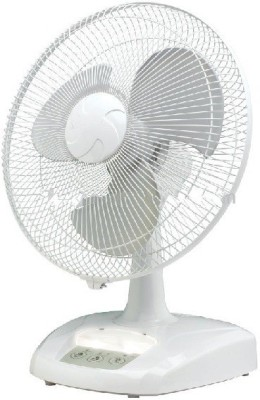 Super IT Sunca 2388 16 Inches Rechargeable Oscillating 3 Blade Table Fan White available at Flipkart for Rs.3499