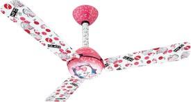 Usha Kids Glam Barbie 3 Blade (1200mm) Ceiling Fan