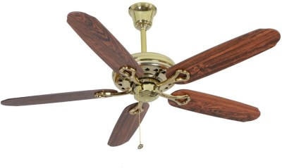 Hunter-Savoy-Bright-Brass-5-Blade-(1320mm)-Ceiling-Fan