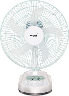Eveready emergency light with fan