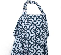 Bebe Au Lait Nursing Cover Feeding Cloak (Blue)