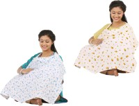 Brother Baby Feeding Cloak (Blue And Yellow With Black)