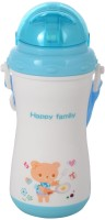 WonderKart Wonderkart Beautiful Desing And Attractive Color 330 ML Child Sipper With Neck Strap - Blue  - Plastic (Blue)