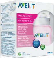 Philips Avent Feeding Bottle Imported  - Bpa Free (Pink)