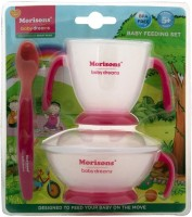 Morisons Baby Dreams Feeding Set - Pink  - Plastic (Pink)