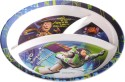 Eternia Toy Story - 3 Section Plate  - Food Grade Melamine - Multicolour
