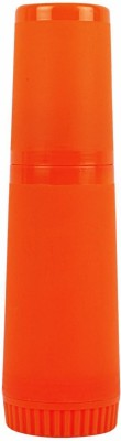 Farlin Insulated Feeding Bottle  - Plastic (Orange)