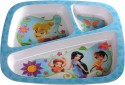 Eternia Tinkerbell 3 - Section Plate  - Food Grade Melamine - Multicolour