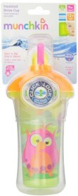 Munchkin Click Lock Insulated Straw Cup  - Plastic