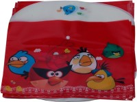Aahum Sales Polypropylene Angry Birds My Clear Bag Set Of 12 (Set Of 12, Multicolor)