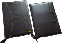 Renown Faux Leather Leather Conference File Folders (Set Of 2, Black) - FAFEK6VUPSTUX5QM