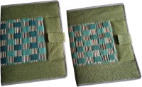Renown Jute Made Jute Conference File Folder (Set Of 2, Green)