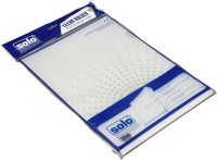 Solo Pack Of 10 Polypropylene L Type Folder (Set Of 1, White)