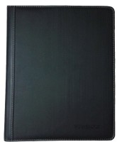 Mead Executive Series Polyproplylene Pad Folio With Two Inbuilt Writing Pads (Set Of 1, Black)