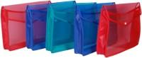Aahum Sales Polypropylene File Folder Set Of 5 (Set Of 5, Multicolor)