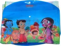 Aahum Sales Polypropylene Chotta Bheem My Clear Bag Set Of 12 (Set Of 12, Multicolour)